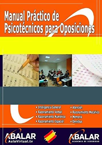Manual práctico de psicotécnicos para oposiciones