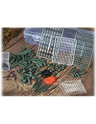 Carpes de 425 pièces karpfenset carp fishing-kit de pêche au leurre angelsortiment karpfensortiment