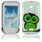 Coque en Silicone pour Nokia Lumia 510Motif Cute Owl Design protection phone coque housse etui Bumper thematys®