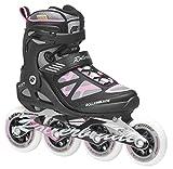 Rollerblade Damen Inlineskate Fitness Recreational Macroblade 90 W, Schwarz/Pink, 42, 07355500 ZY9