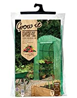 Grow It 08949 190 x 127 x 197 cm Large Replacement Walk in Grow Arc Heavy Duty Cover - Green