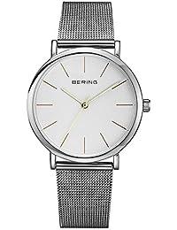 Bering Unisex Classic–Reloj de pulsera analógico cuarzo acero inoxidable 13436–001