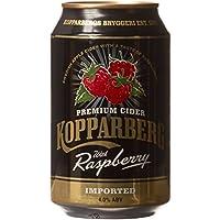 Kopparberg Raspberry Cider Can, 10 x 33cl