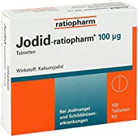 Jodid-ratiopharm 100 μg Tabletten, 100 St preisvergleich bei billige-tabletten.eu