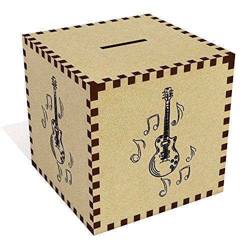 Azeeda Groß \'Musikalische Gitarre\' Sparbüchse / Spardose (MB00065240)