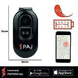 PAJ EASY Finder 2.0 Kinder Tracker Peilsender GPS Tracker mit App SOS Notruf Senioren Ortungsgerät Personen Mini Schlüsselanhänger Auto - Variante SMS-Ortung