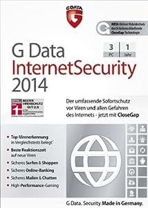 G Data Internet Security 2014 - 3 PCs [Download]