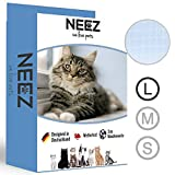 NEEZ Filet de chat 3x8 mètres pour le balcon Filet de protection transparent pour le filet Pigeon net