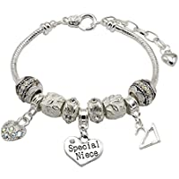 Special Niece 21st Birthday Charm Bracelet with Gift Box Women's Jewellery