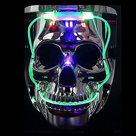 Masques Drôles De Halloween Adultes - Masque de LED, DAXIN clignotant Jason Masque