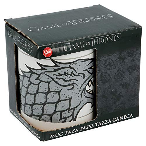 Taza de cerámica 325 ml con caja | STARK
