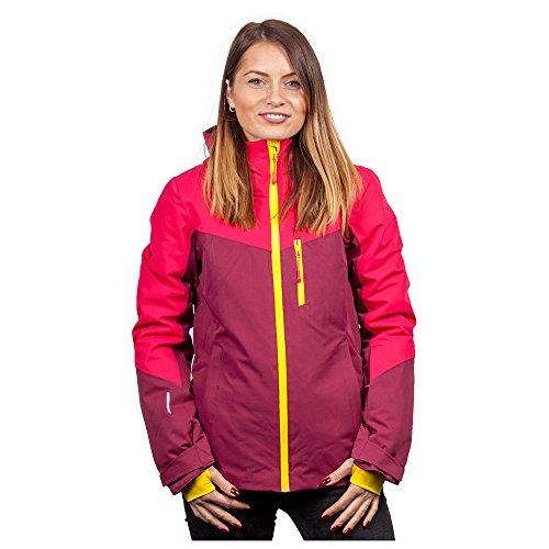Icepeak Kate Jacket Damen Skijacke weinrot pink (40)