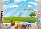 Fototapete REGENBOGEN Nr.8TG-623 Bildtapete Wandbild Riesenposter Wanddekoration Kinderzimmer Bordüren Kinder Sticker Wandtatoo kids wall mural children wallpaper
