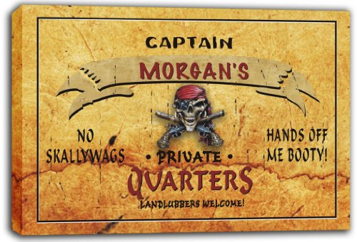 scpw2-1057-morgans-captain-private-quarters-skull-stretched-canvas-print