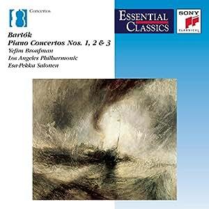 Bartók : Concertos pour piano n° 1, 2 et 3