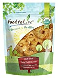 Food to Live Piña seca Bio certificada sin azúcar (Eco, Ecológico, Kosher, sin OMG, trozos, rodajas) (454 gramos)