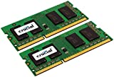 Crucial 16GB Kit (8GBx2) DDR3L 1600 MT/s  (PC3L-12800) SODIMM 204-Pin - CT2KIT102464BF160B