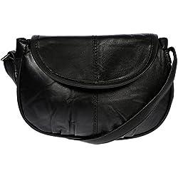 Christian Wippermann® süsse kleine Leder Umhängetasche Ausgehtasche Damentasche Party Bag Tasche