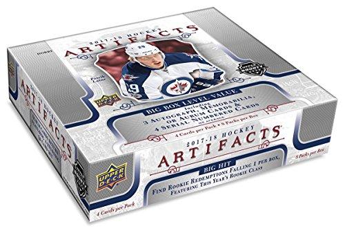 2017/18 Upper Deck Artifacts Hockey Hobby Box NHL