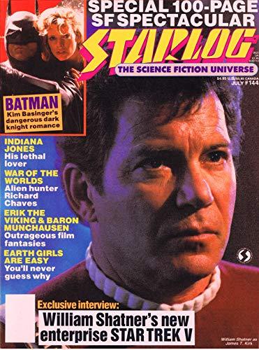 Starlog Magazine The Sci Fi Comics: July 1989 (English Edition)