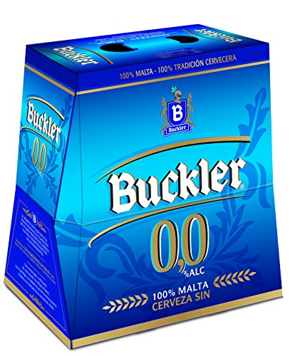 Buckler 00 Beer - Pack of 6 Bottles x 250 ml - Total: 1,5 L