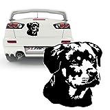 Rottweiler Hundeaufkleber Wandtattoo oder Automotiv Hund | KB213V2