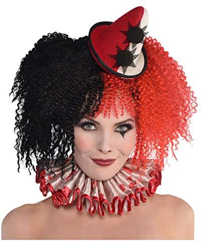Clown Halskrause für Dein Halloween Kostüm ()