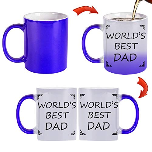 TK.DILIGARM World'S Best Dad Coffee Mugs in Gift Box