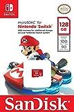 SanDisk SDSQXAO-128G-GNCZN microSDXC UHS-I Card for Nintendo Switch, 128 GB, Nintendo Licensed Product