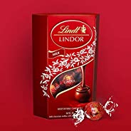 Lindt Milk Lindor Chocolate, 200 gm (Pack of 1)