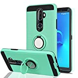Alcatel 3V Phone Case with HD Phone Screen Protector,Ymhxcy