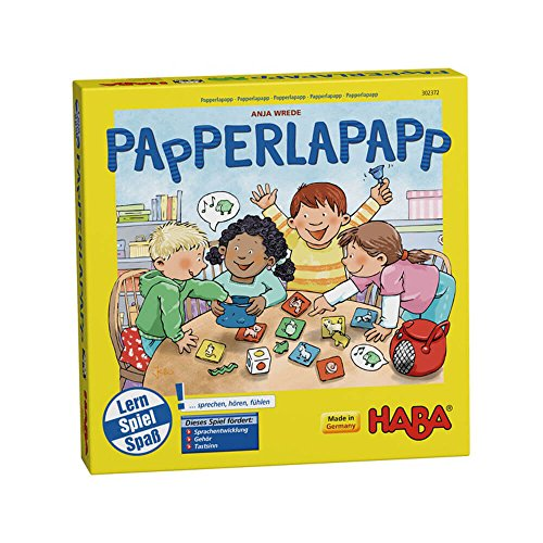 HABA 302372 - Papperlapapp, Lernspielsammlung