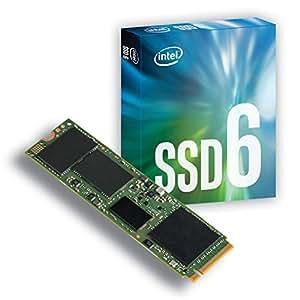 Intel 1607244 Solid-state Drive 600p Series 256 GB schwarz/grün