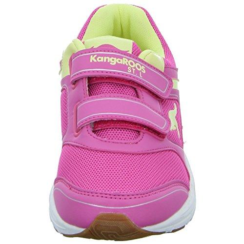 Kangaroos NUKA V 16018 67 687 Mädchen Training mit Klettverschluss Rot (Pink)