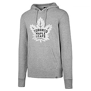 '47 Brand Toronto Maple Leafs Knockaround Hoodie NHL Sweatshirt Grau