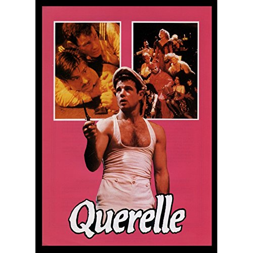 Price comparison product image Mauvais Genres QUERELLE French Herald 9x12-1982 - R. W. Fassbinder, Brad Davis