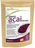 Polvo Organico Acai Berry (125g) | La mejor calidad disponible | Por MySuperfoods