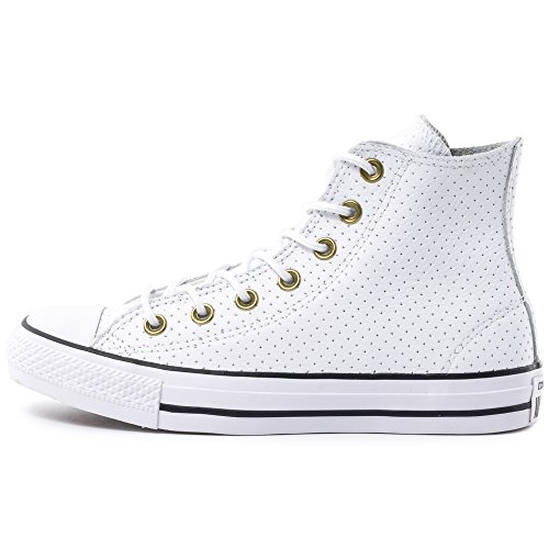 Converse All Star Hi Damen Sneaker Weiß White/Biscuit/Black