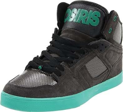 Osiris NYC'83-Vulc 602085, Unisex - Erwachsene Sportschuhe - Skateboarding, Grau (charcoal-silver-teal), EU 40 (US 7.5)