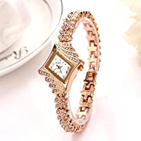 Slim Leaves Band Rhinestone Women Bracelet Watches Female Quartz Watch Fashion Ladies Wrist Watches Best Gift