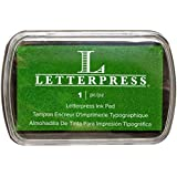 Letterpress Ink Pad-Green