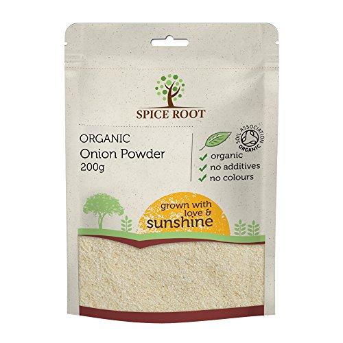 Bio Zwiebel Pulver 200g (Organic Onion Powder) - Premium Qualität, Bio-zertifiziert