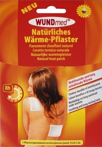 Natürliches Wärmepflaster / Wärme-Pflaster für langanhaltende, wohltuende Wärme - 13 cm x 9,5 cm