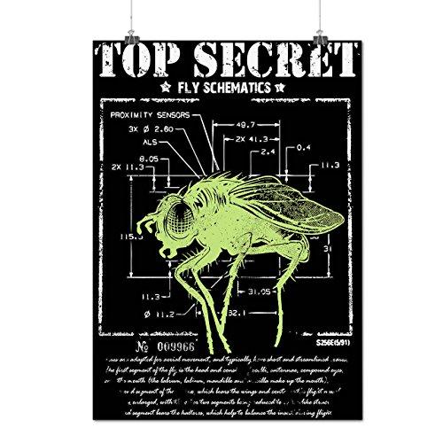 meilleur-secret-mouche-insecte-capteur-matte-glace-affiche-a2-60cm-x-42cm-wellcoda