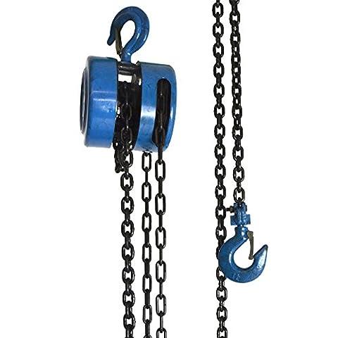 1 Ton Chain Block / Pulley Lifting Block / Engine Lift / Crank Chain Hoist TE298