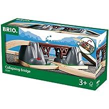 Brio - Puente para circuito de tren de juguete de madera (33391)