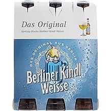 Berliner Kindl Weisse Das Original Mehrweg, (6 x 0,33 l)
