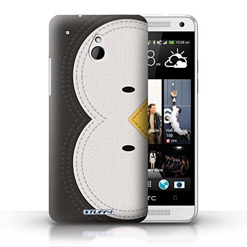 Kobalt® Imprimé Etui / Coque pour HTC One/1 Mini / Cochon conception / Série Cousu des Animaux Effet Manchot