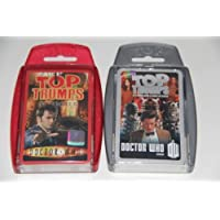 Pack of 2 - Top Trumps - Dr Who - red pack and grey Pack