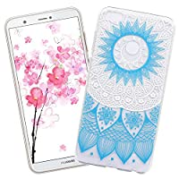 Huawei P Smart / Huawei Enjoy 7S Case,XCYYOO Huawei P Smart / Huawei Enjoy 7S Silicone TPU Transparent Soft Case Flexible Ultra Slim Thin Lightweight Gel Bumper Shockproof Protection Cover Shockproof Anti-Scratch Protective Phone Case for Huawei P Smart /